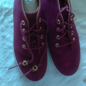 Coach Suede Mullberry Tennis Shoes